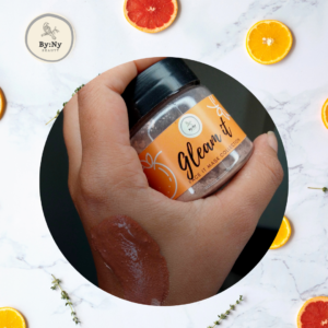 Gleam it. , brightening clay mask for face